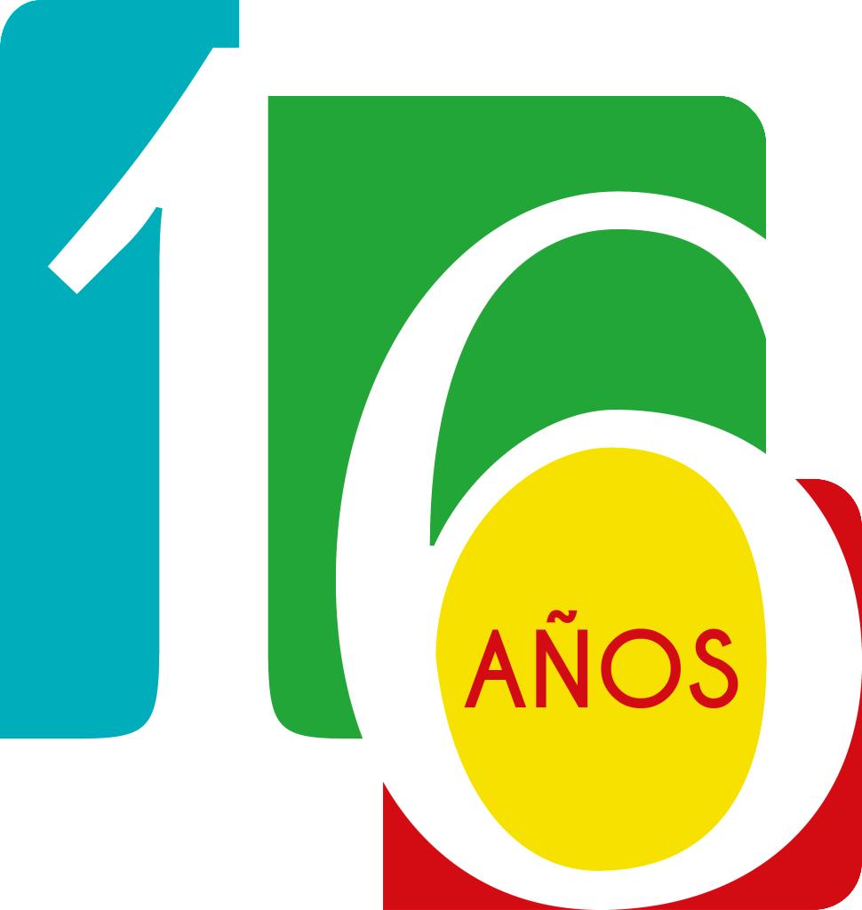 Logo 16 años UML-01